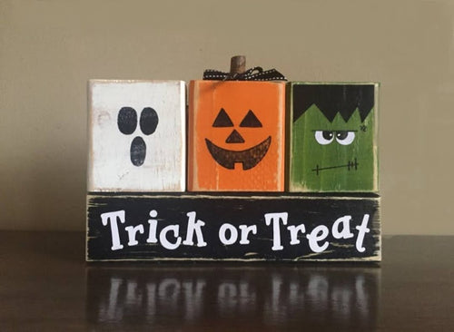 Trick or Treat Blocks                                                                                    Saturday Oct. 24th -                                     11:00 A.M.
