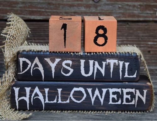 Halloween Countdown  Friday October 23rd -                                      7:00 PM