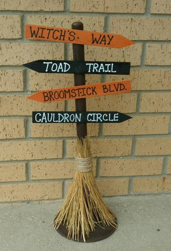 Halloween Broomstick                                                                                                                                      Sunday, Oct 18th,   12:30 P.M.