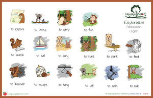 Exploration Verbs Mat