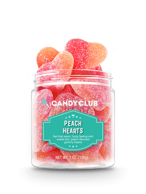 Candy Club - Peach Hearts