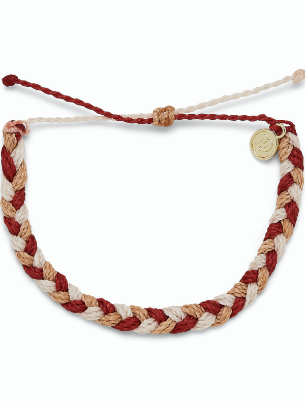 Pura Vida - Braided Bracelet - Fireside Feels