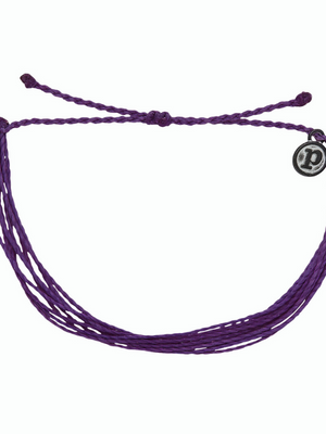 Pura Vida Bracelet - Original - Purple