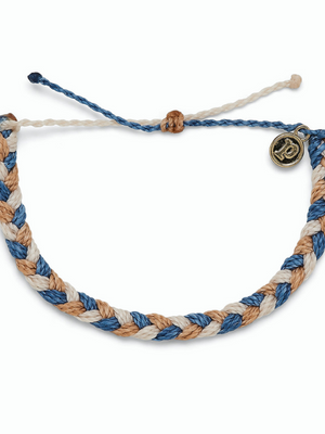 Pura Vida Braided Bracelet - Happy Trails
