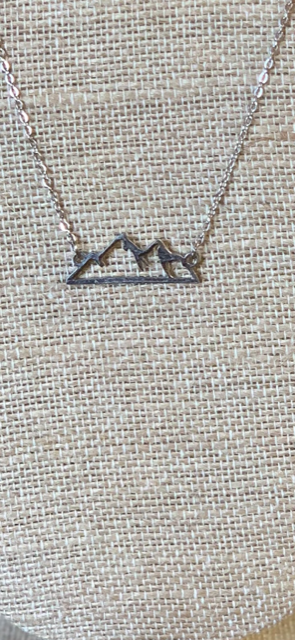 Rocky Mountain Necklace in Silver