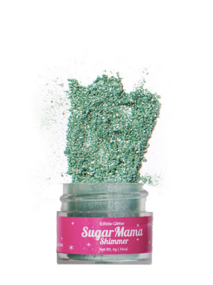 Sugar Mama Shimmer - Limelight Green