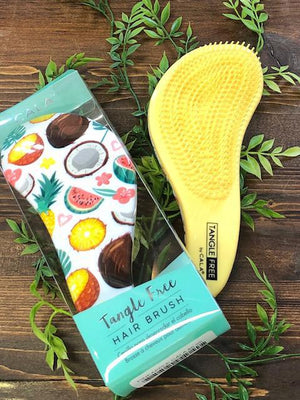 Cala Tangle Free Hair Brush - Pineapple