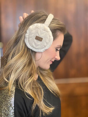 CC Faux Fur Ear Muffs