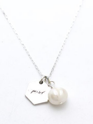 Perfectly Poised Freshwater Pearl Necklace