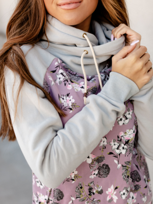 Singlehood Sweatshirt - Lilac Love