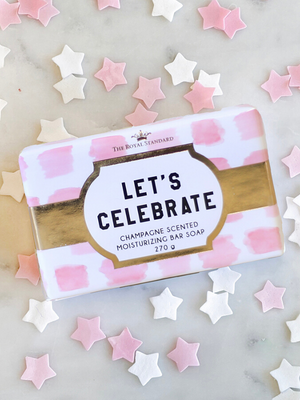 Royal Standard Let's Celebrate Champagne Scented Soap