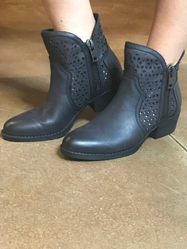 Kenna Black Booties