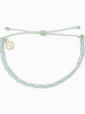 Pura Vida Bracelet - Multi Mini Braided Cool Shoreline