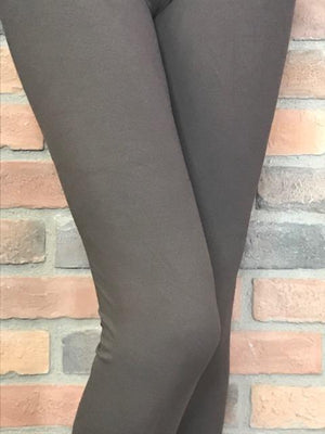 Brown Signature Soft Leggings