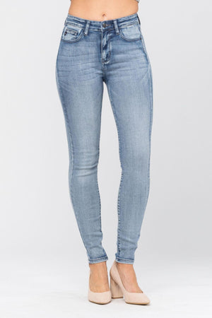 Judy Blue High Rise Sanded Skinny