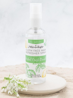 Face Mask Refresher Spray - Herbal Fresh Mint