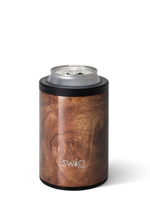 Swig Can and Bottle Cooler - Black Walnut