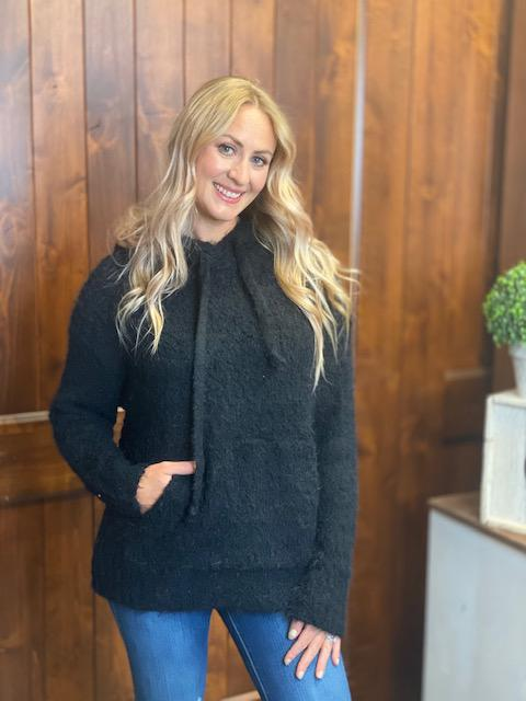 Camilla Cozy Sweater in Black