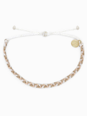 Pura Vida Bracelet - Multi Mini Braided Leche