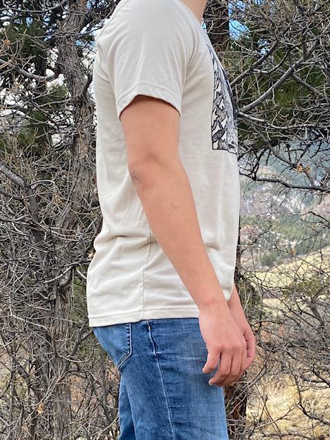 Colorado T-shirt in Natural