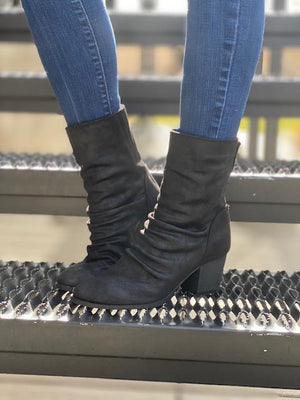 Preston Midi Booties - Black