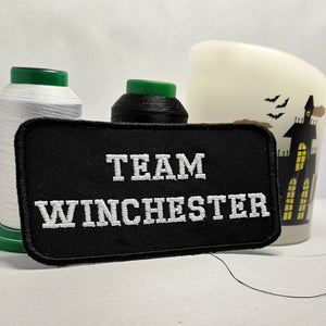 TEAM WINCHESTER Supernatural Patch