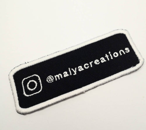 Personalized Instagram Account Patch