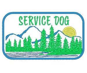 Nature Forest Patch / Service Dog