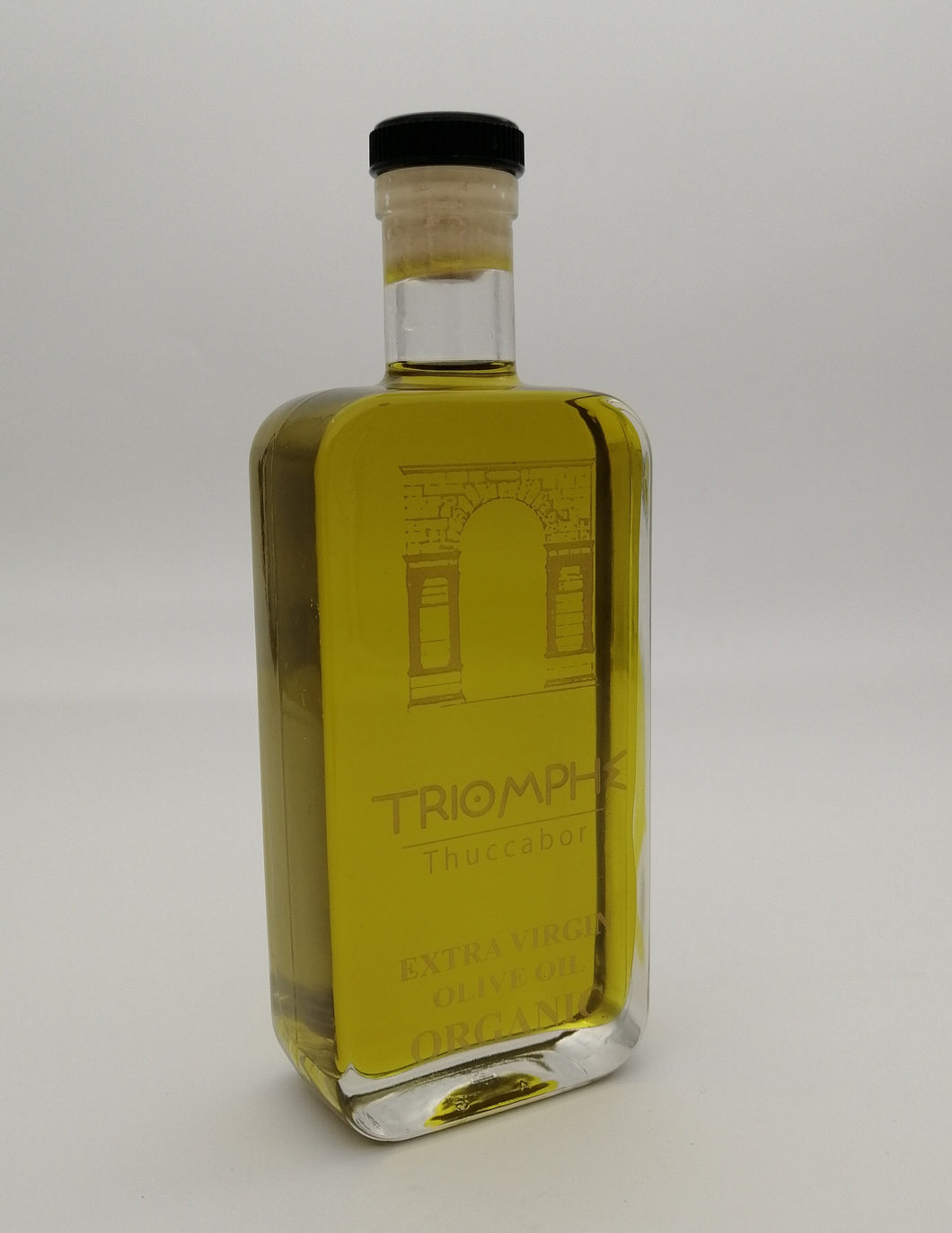 HUILE D'OLIVE BIO EXTRA VIERGE - TRIOMPH THUCCABOR, 250 ml Packaging design