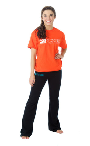 Distinguished Young Women Orange T-Shirt