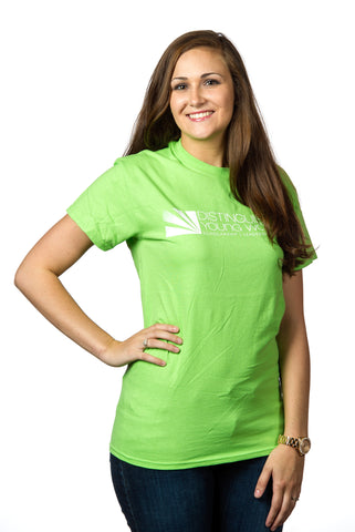 Distinguished Young Women Green T-Shirt / Clearance
