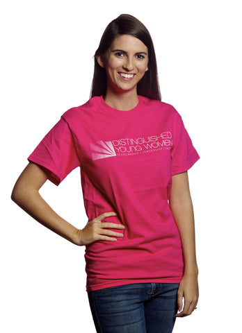 Distinguished Young Women Pink T-Shirt / Clearance