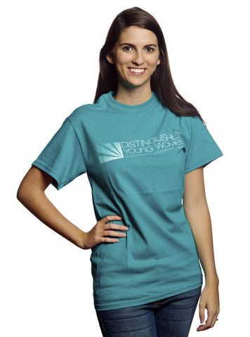 Distinguished Young Women Teal T-Shirt