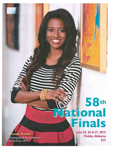 58th National Finals Program Book - 2015 / Clearance