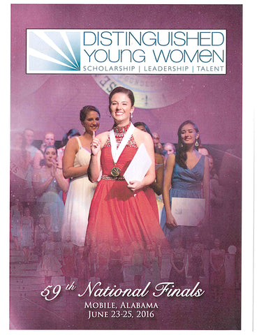 59th Distinguished Young Women National Finals DVD Set / Clearance