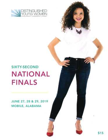 62nd National Finals Program Book - 2019