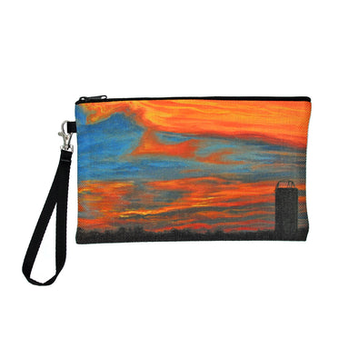 Aldine Sunset Clutch Bag