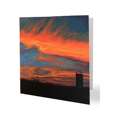 Aldine Sunset Greeting Card