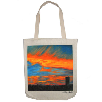 Aldine Sunset Tote Bag