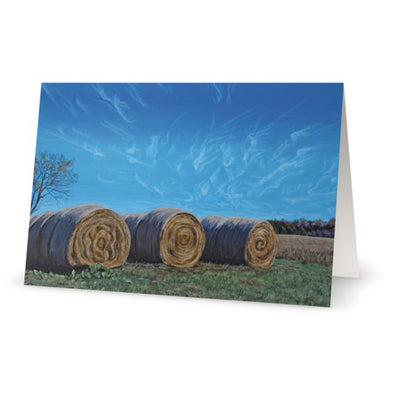 Autumn in Daretown Greeting Card