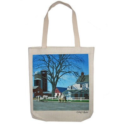 Caught in a Country Moment Tote Bag