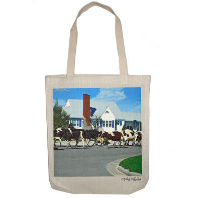 Caught in Another Country Moment Tote Bag