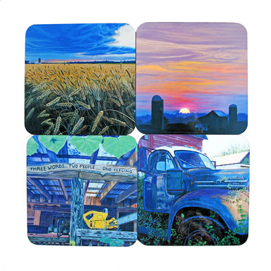 Coaster Set: Country Living