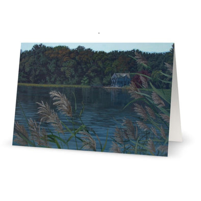 Daretown Lake Greeting Card