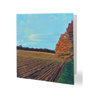 Fall Planting Greeting Card