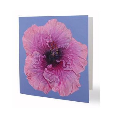 January Blossom Greeting Card