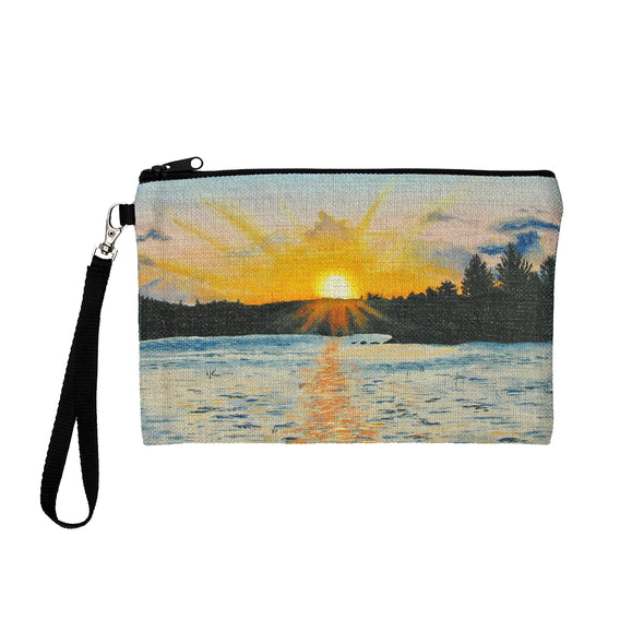 Memories of Maine Clutch Bag