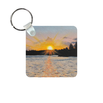Memories of Maine Keychain