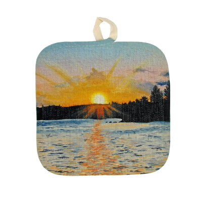 Memories of Maine Pot Holder