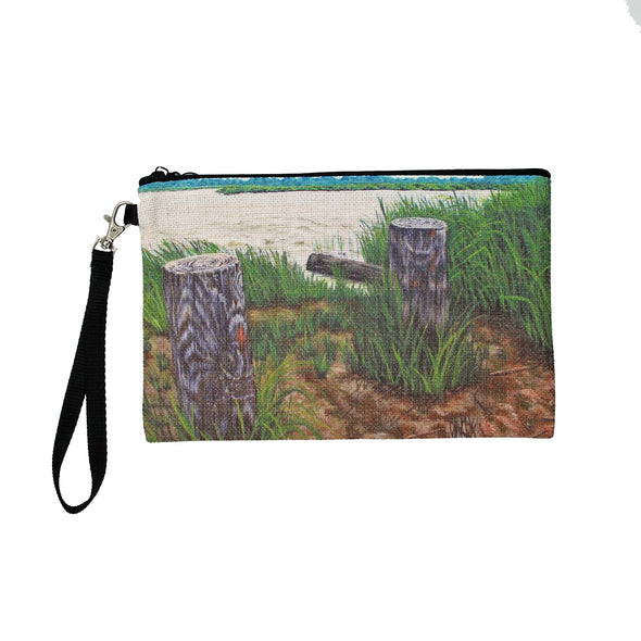 Ragged Island Street Greenwich, NJ Clutch Bag